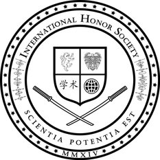 International Honor Society Logo